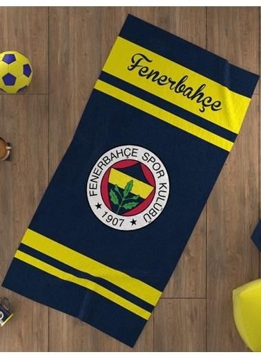 Fenerbahçe Plaj Havlusu Renkli